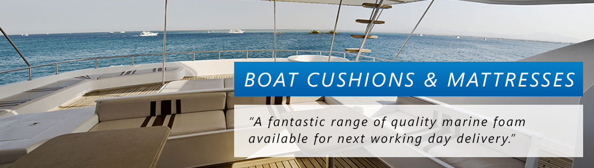 Boat Cushions & Boat Mattresses