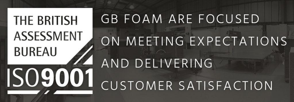 Foam Quality Control ISO 9001