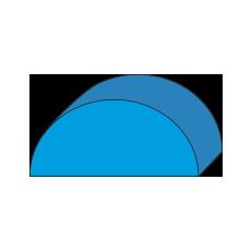 Semi Circle Foam