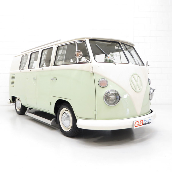VW Camper Van Mattress Rock and Roll Bed Topper Foam