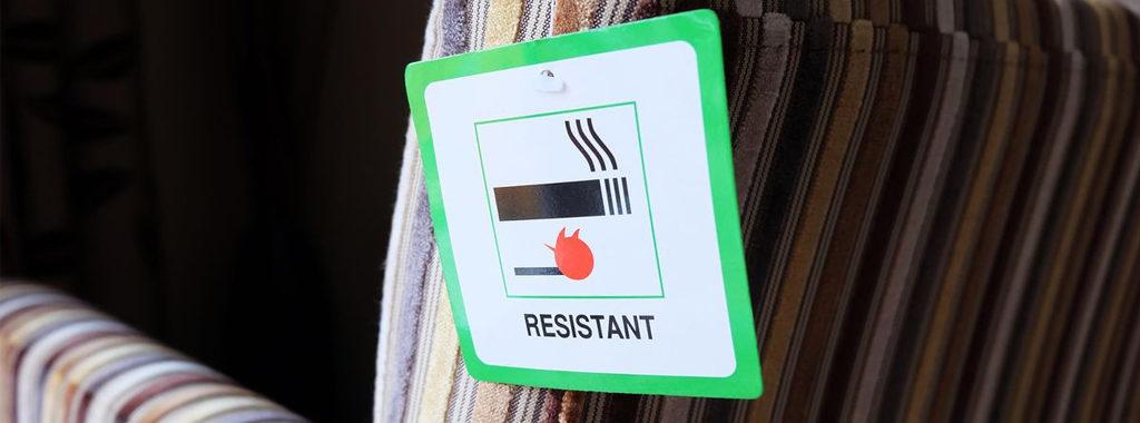 Fire Retardant Foam - Fire Resistant Sofa Foam Label