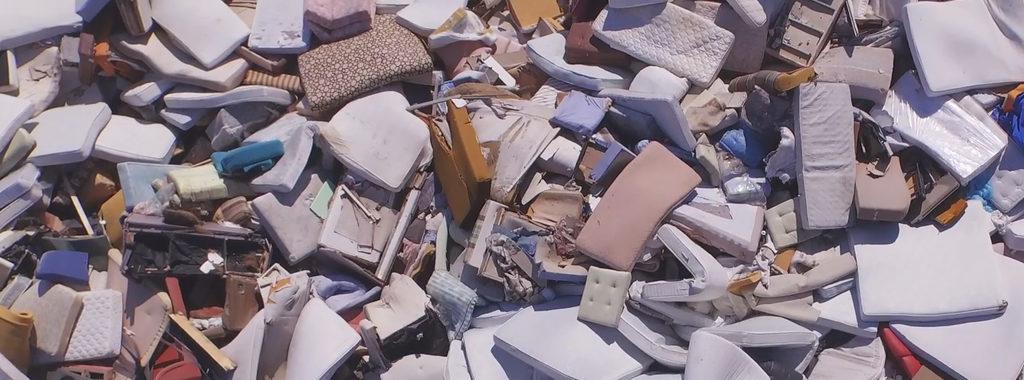 Landfill Sofa Foam Replacement