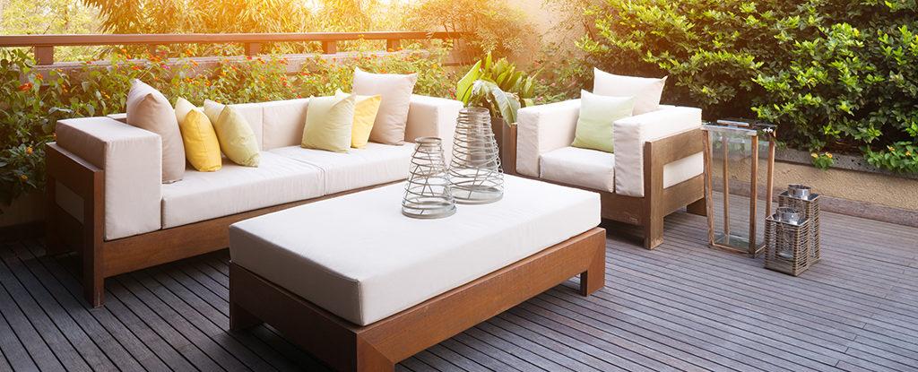 Reticulated Foam Outdoor Cushions Garden Furniture