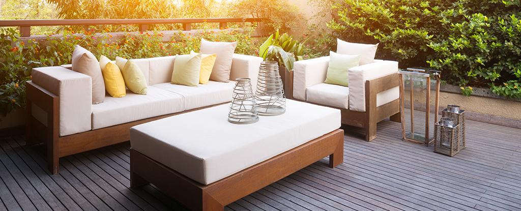 Reticulated Foam Outdoor Cushions Garden Furniture