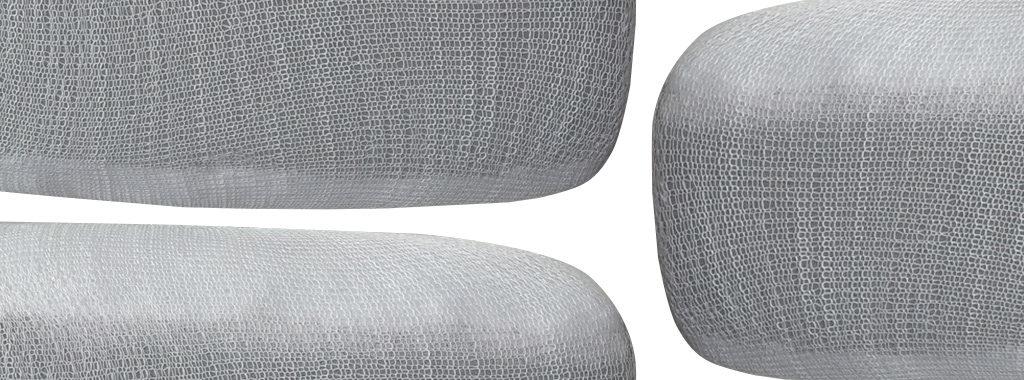 Stockinette Dacron Foam Cushions