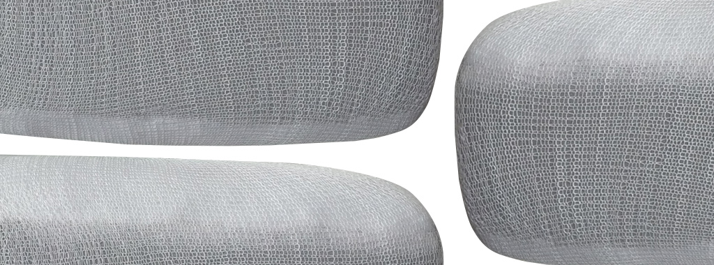 Stockinette Dacron Foam Cushions