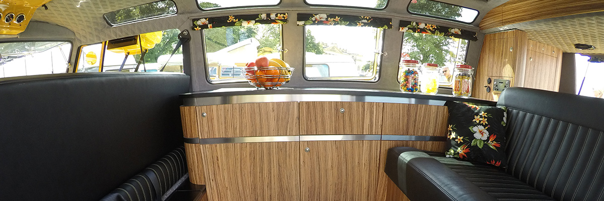 VW Camper Interior Foam Chairs