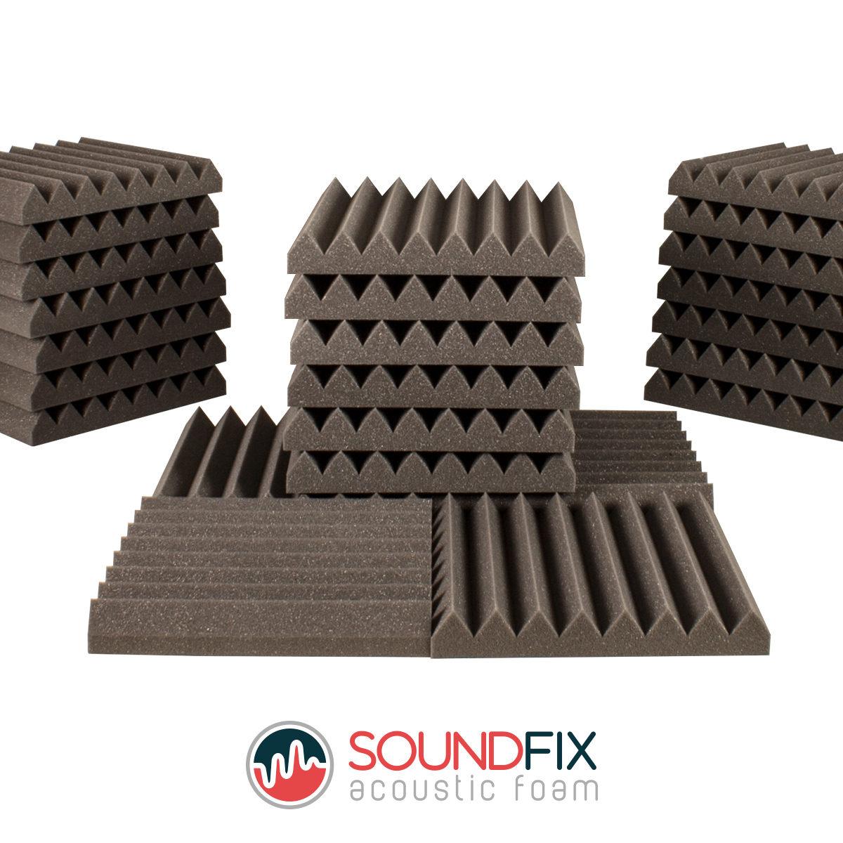 24 Acoustic Foam Tiles
