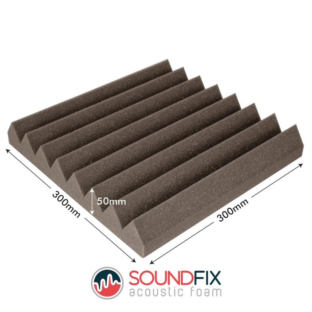 Acoustic Foam Tiles Dimensions