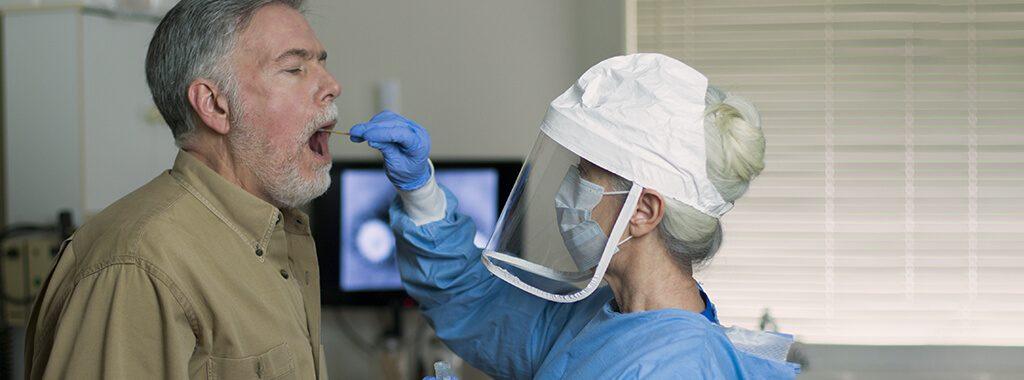 Hospital PPE Face Shield Mask Foam