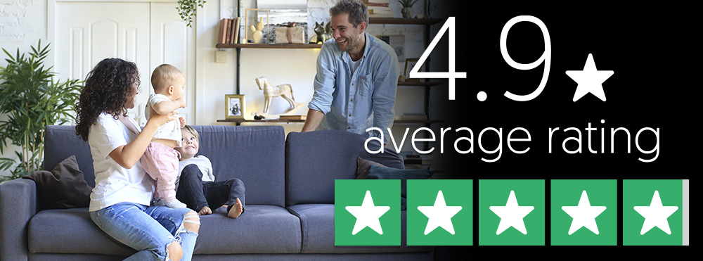 4.9 star average rating