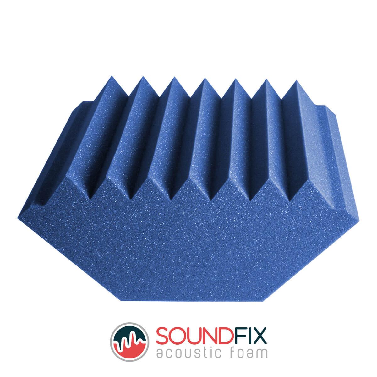 blue bass traps acoustic room kit
